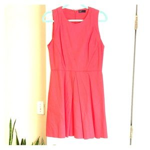 Pink sleeveless Gap dress, size 4